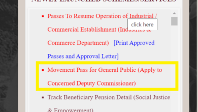 Photo of Haryana Movement Pass COVID-19: Apply now