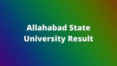 Photo of Allahabad State University Result 2020 BA BSc BCom UG/PG Semester Exam Result.