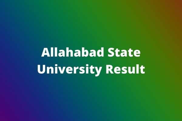 Allahabad-State-University-Result