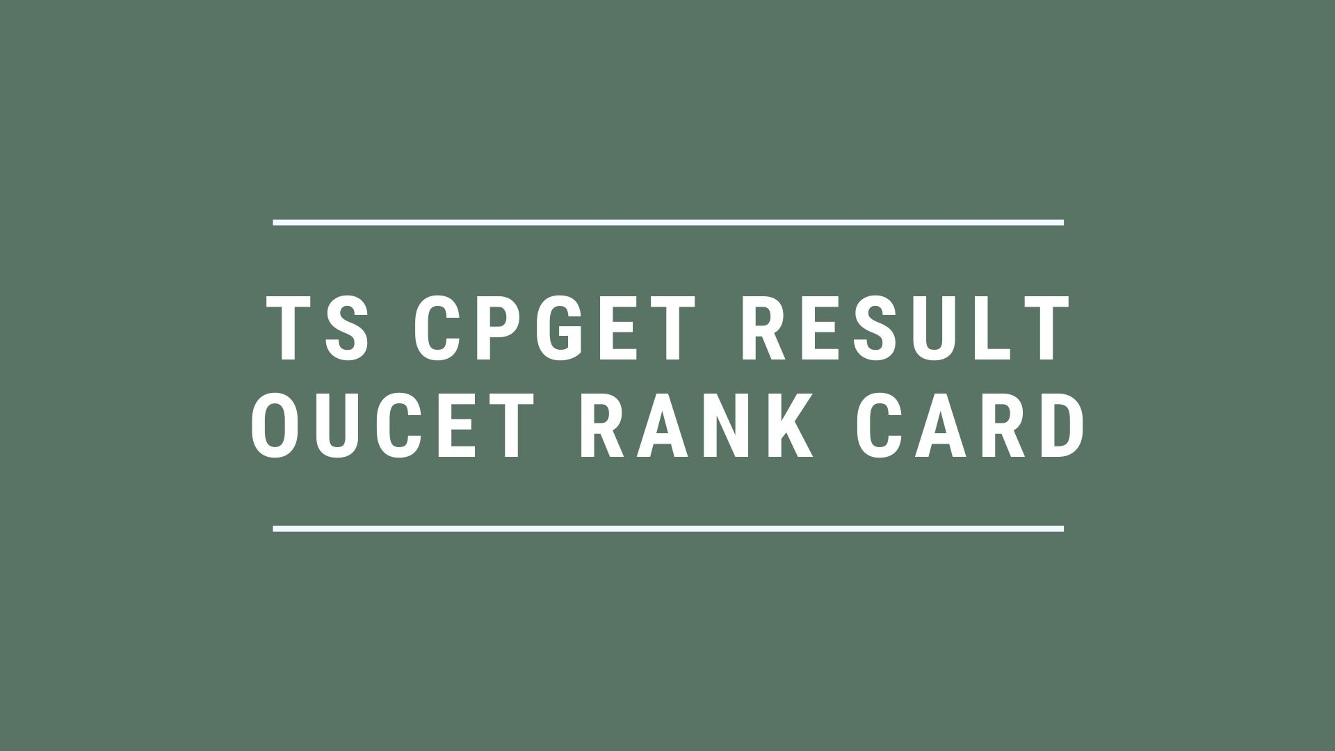 TS-CPGET-Result-OUCET-Rank-Card
