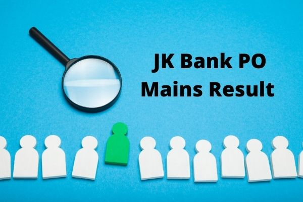 JK Bank PO Mains Result