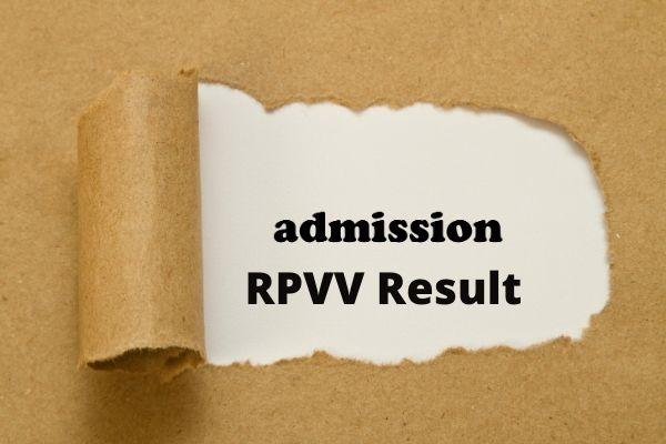 RPVV Result