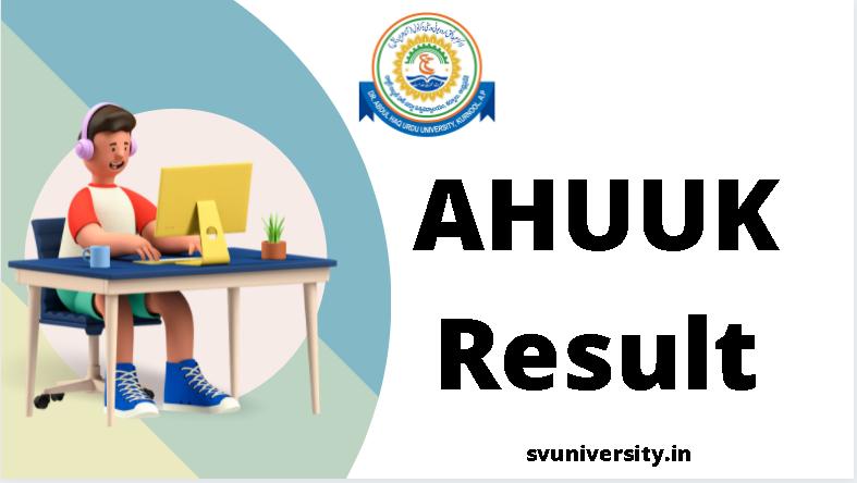 AHUUK Result 2021 Online