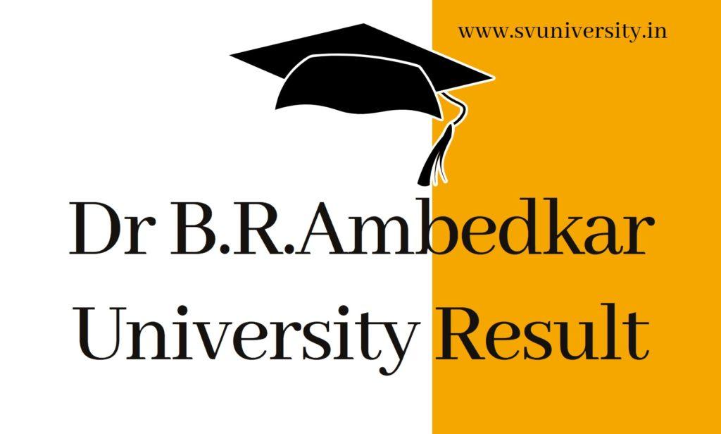 Dr-BRAmbedkar-University-Result