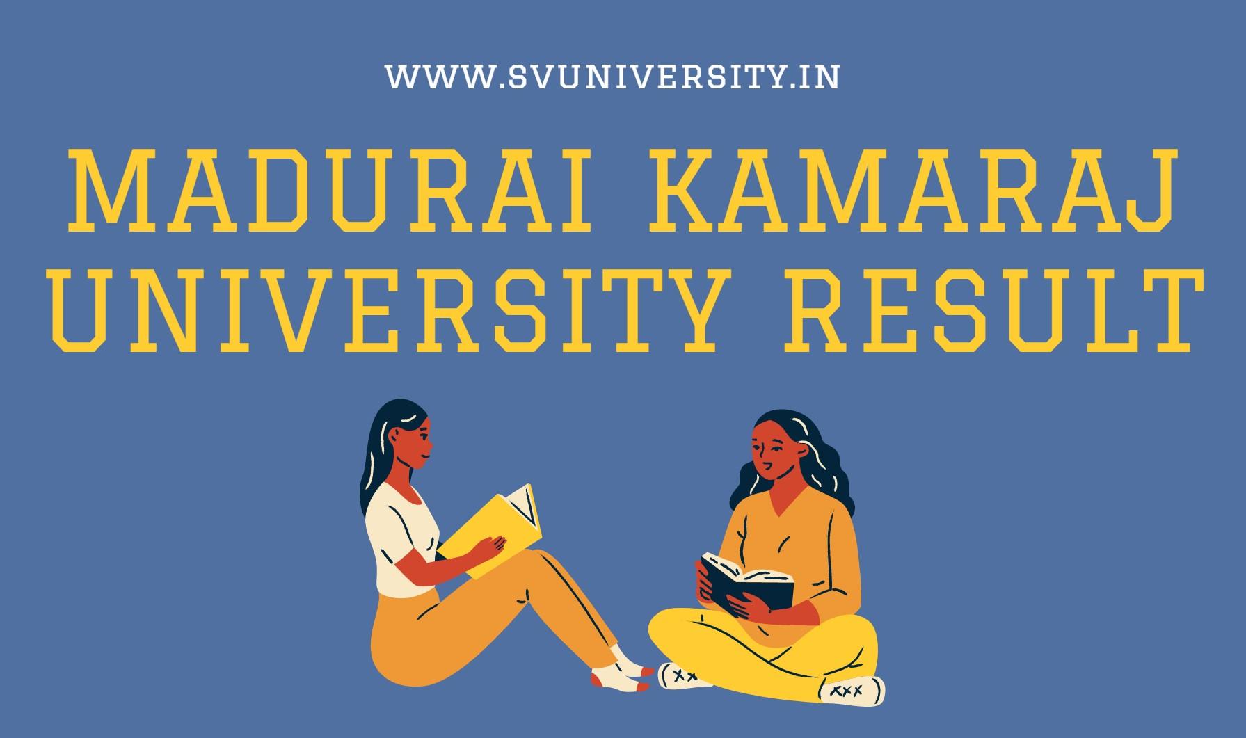 madhurai-kamraj-university-result